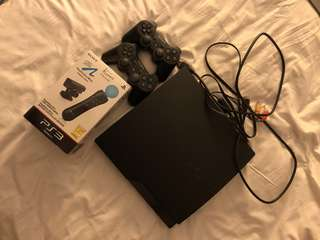PS3 Slim-320GB +PlayStation Move