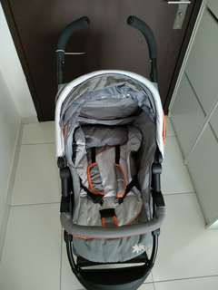 Almost new stroller pram
