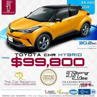 Toyota CHR 1.8 HYBRID S LED EDITION ( 2018 ) NEW )( SUV )( HYBRID )( JDM ) ×TAG VEZEL CHR C-HR CH-R HR-V HRV H-RV LUXURY ACTIVE QASHQAI CX-5