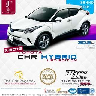 Toyota CHR 1.8 HYBRID S LED EDITION ( 2018 )( NEW )( SUV )( HYBRID )( JDM ) ×TAG CHR C-HR CH-R VEZEL HR-V