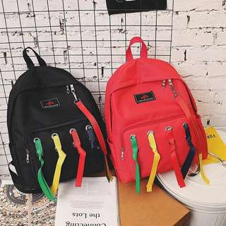 K-Backpack Ribbon Accent