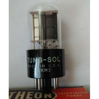 USA 6X5 Tung Sol Vintage Rectifier Tube