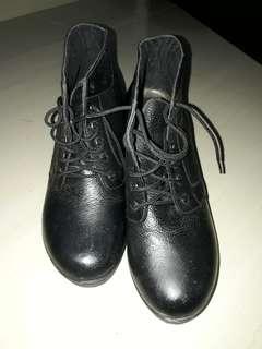 Boots Charl Walker (KULIT ASLI)
