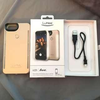LuMee Phone Case Rose Gold