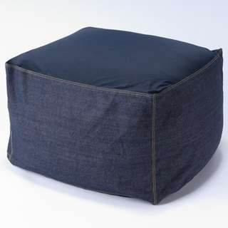 MUJI Bean Bag with Denim Cover