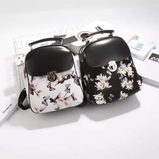 K-Backpack Givenchy Inspired Floral