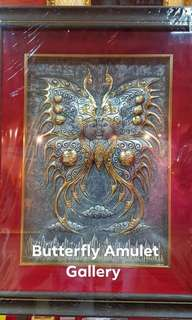 Butterfly , Phra Narai made of Pewter