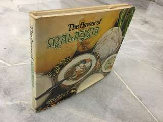 Vintage Recipe Book - The Flavour of Malaysia