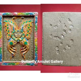 Kruba Krissana Butterfly Amulet Old Batch