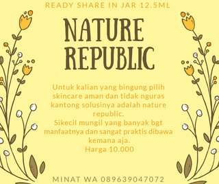 Ready nature republic repack 12.5ml
