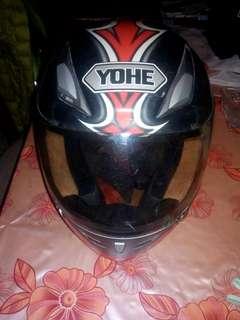Jualan kemas rumah nak raya, helmet yohe full face inggin di lepas kan dengan harga murah, pandai bodek dapat kurang