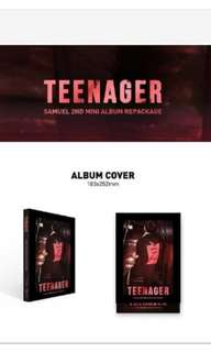SAMUEL 2ND MINI ALBUM REPACKAGE - TEENAGER