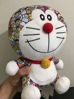 Uniqlo Doraemon takashi Murakami collaboration plush toy