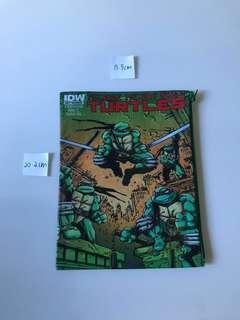 green TMNT teenage mutant ninja turtle cartoon case