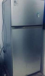 2 -door - Used Refrigerator. Made in Japan. Transformer included.