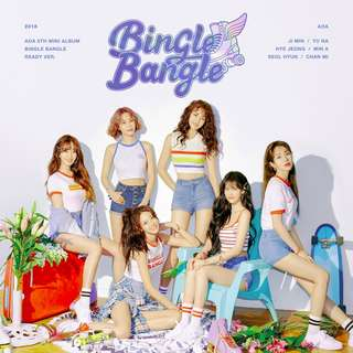 AOA 5TH MINI ALBUM - BINGLE BANGLE