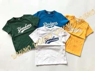 MLB 童裝T恤 「潮寶」必備款