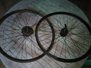 Antaj WheelSet with 7 Speed Sprocket