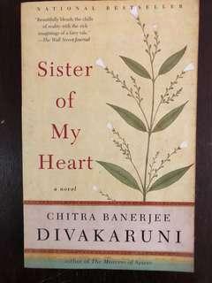 Sister of my heart - Chitra Banerjee Divakaruni