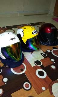 Arai shoei helmet