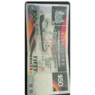 Ship Series SGD50 Note
