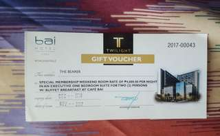 BAI HOTEL DISCOUNTED VOUCHER