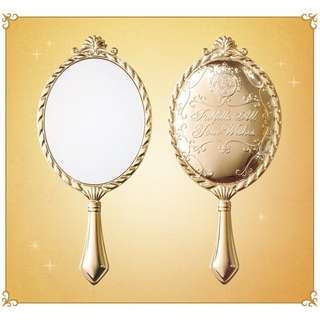 🌸 Majolica Golden Vintage Royal Princess Mini Mirror