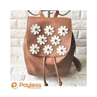 Payless Floral Accent Backpack