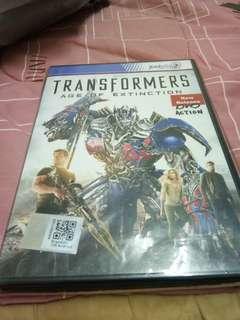 Transformer movie original dvd