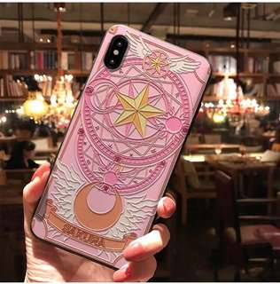 日本直送!Cardcaptor Sakura百變小櫻雕花iPhone case