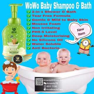 Baby Shampoo & Bath