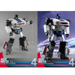[Preorder] Transform Dreamwave / Transform and Rollout, TR-01, Hova / Agent Meister (MP Jazz)