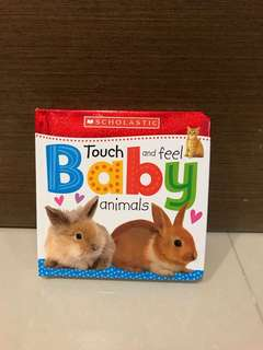Free Postage-BN Scholastic Touch and Feel Baby Animals