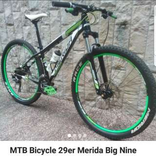 2014 Merida Big Nine 29er Mtb