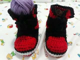 Crochet Jordan Nike Shoes 😍