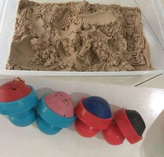 Kinetic Sand & Toddler Colours