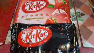 Kitkat Chocolates (strawberry and dark flavor)