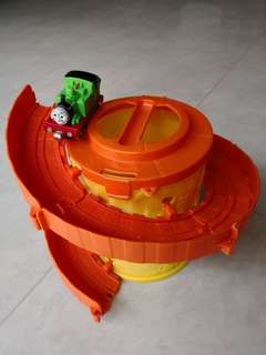 Spiral Thomas the Tank Engine