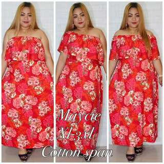 3 way Plus Size Maxi Dress