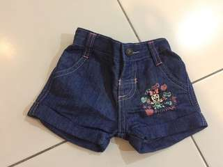 Baby short jeans