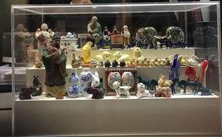 items in showcase