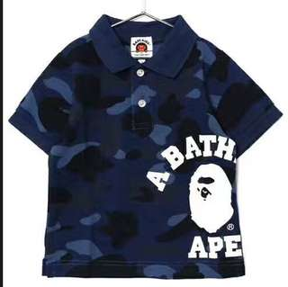 Bathing Ape Polo Shirt