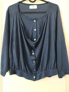 large blouse