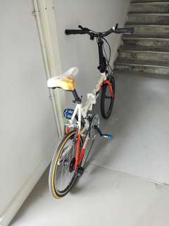 Folding bicycle for sale