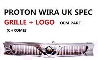 WIRA UK FRONT GRILL