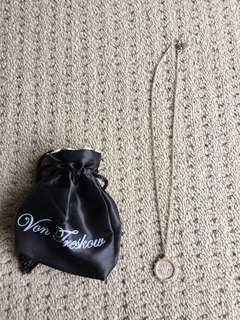 Vontreskow coin necklace