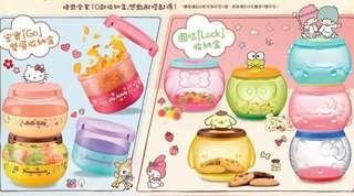 7仔 lock&go 盒 sanrio characters 1 2 3 4 5 7 8 10 可換