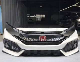 CIVIC FC TYPE R FRONT GRILL
