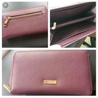 Aldo wallet (burgundy)