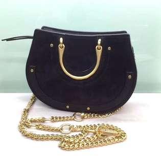 Chloe Mini Pixie Belt Bag Black / Brown Half Moon 歐洲直購 100% Real and New 可要求陪同到專門店驗貨☺️